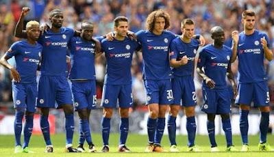 Daftar Skuad Pemain Chelsea 2017-2018 Terbaru