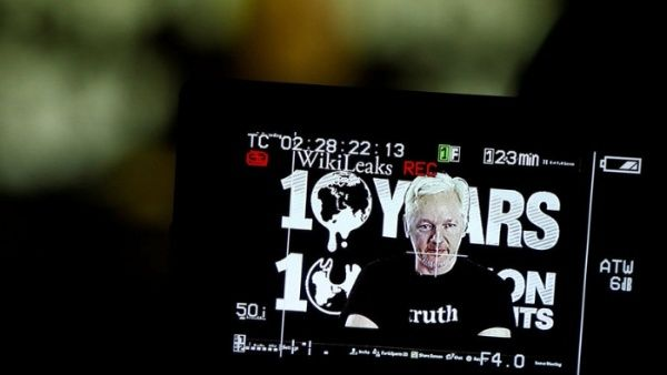 Wikileaks revela ficheros guardados tras detención de Assange