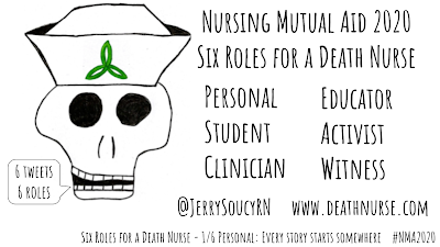six roles for a death nurse 1/6 personal #nma2020