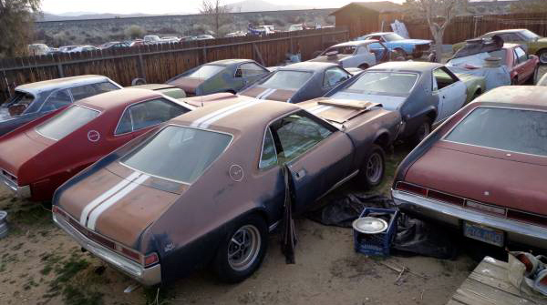 Just A Car Guy: AMC collection getting liquidated,
