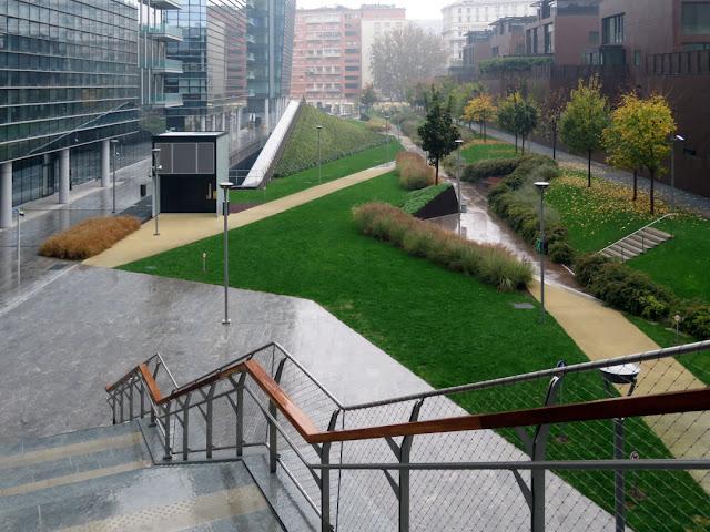Giardino delle Varesine, Via Joe Colombo, Milano