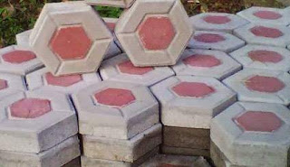 Paving Block Model Segi Enam Hexagonal