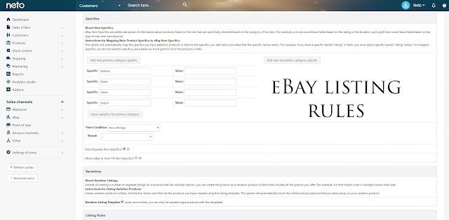 The eBay Item Listing Rules
