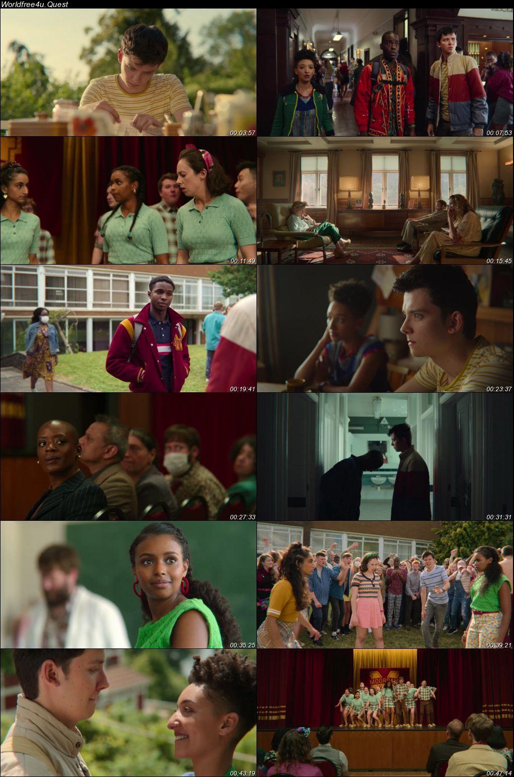 Sex Education (Season 2) WEB Series HDRip Dual Audio 720p    [Hindi-English]