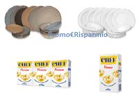 Logo Vinci la tavola delle feste con CHEF: in palio 300 servizi piatti Kasanova