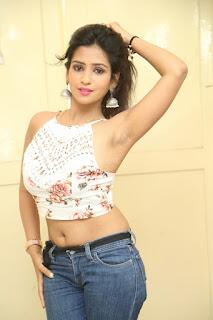 Deekshita Parvathi in a short crop top and Denim Jeans Spicy Pics Beautiful Actress Deekshita Parvathi January 2017 CelebxNext (238).JPG