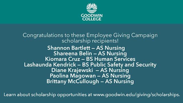 Congratulations to Employee Giving scholarship recipients