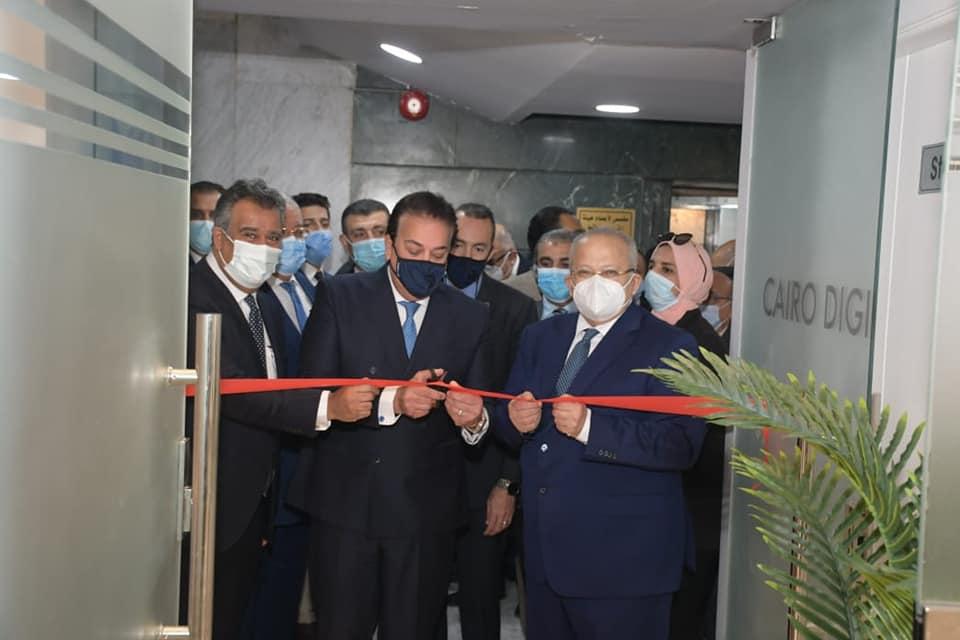 افتتاح أول مركز تميز علمي إقليمي في مصر  وأفريقيا في مجال طب الأسنان الر قمي