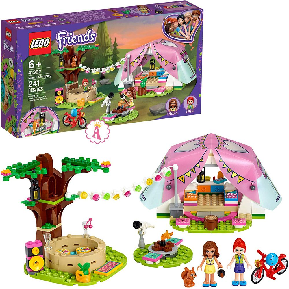 LEGO Friends новинки 2020 года Nature Glamping 41392