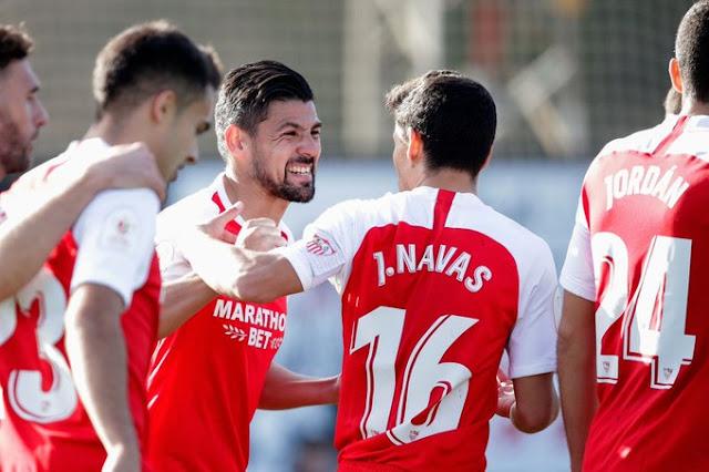 Crónica Escobedo 0 - Sevilla FC 5