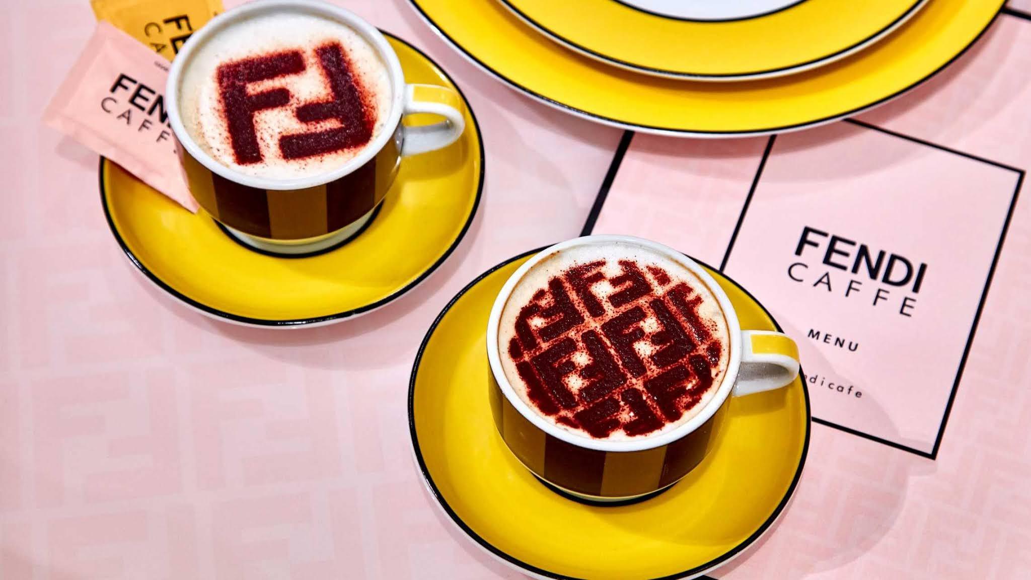 FENDI CAFFE SELFRIDGES LONDON