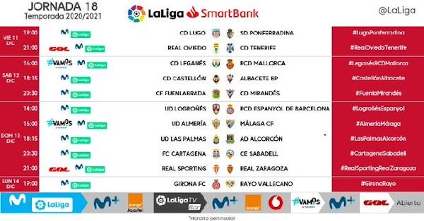 El Almería - Málaga, el domingo 13 de Diciembre a las 16:00 horas