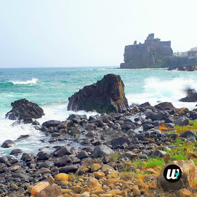 Beach and sea, Aci Castello & Aci Trezza | Sicily, Italy | wayamaya