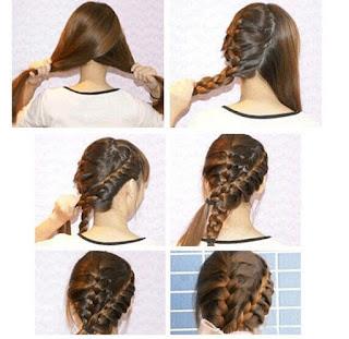 Cara Kepang Rambut Pendek Sendiri