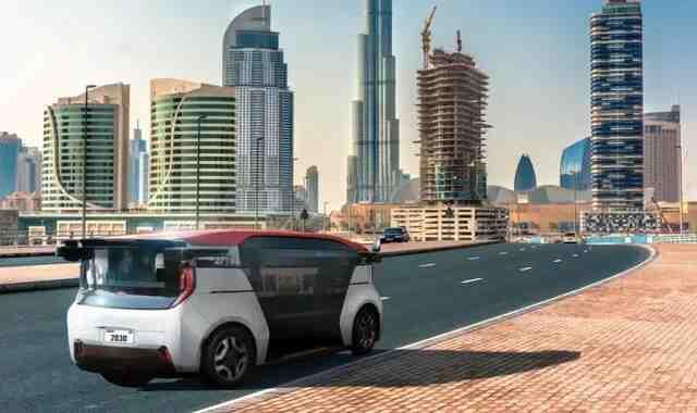 Cruz brings driverless automated taxis to Dubai