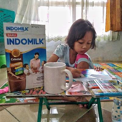 Indomilk Susu Bubuk Anak Tinggi Tangguh Tanggap