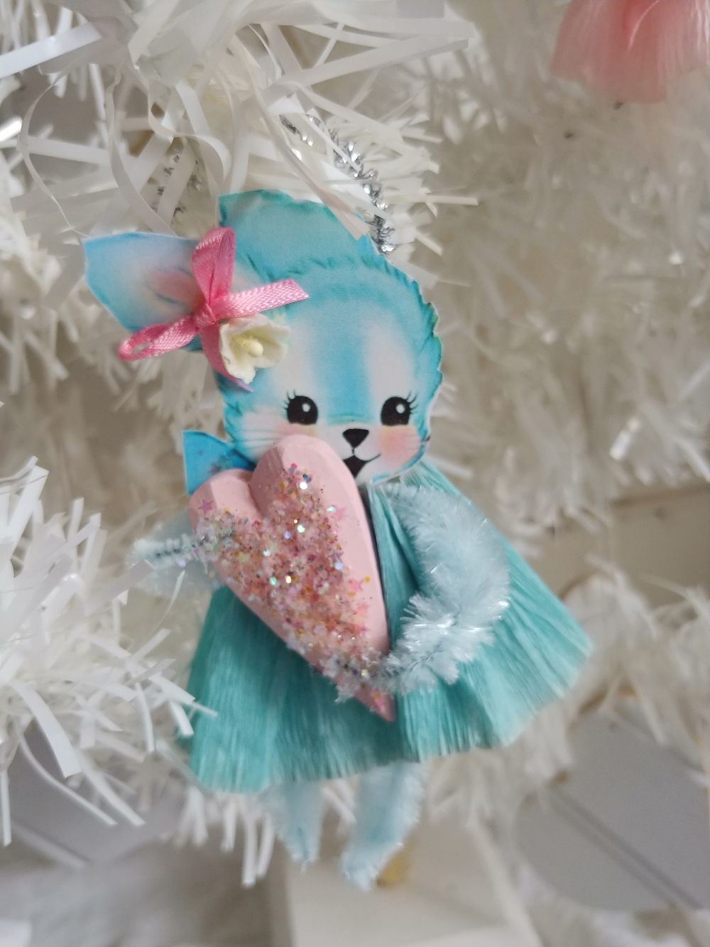 bunny spring ornament