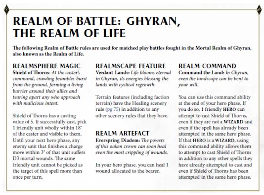 Reinos de Batalla: Ghyran