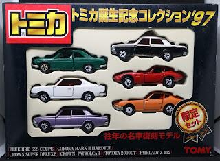 Tomica - 日本製,  一套6架 Toyota 名車復刻