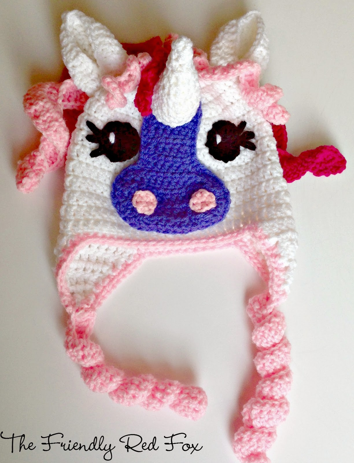 Preferred Free Crochet Little Pony Hat - thefriendlyredfox.com JO42