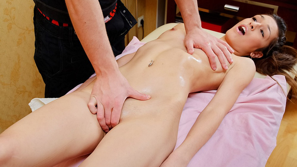 Massage in sex videos with sexual intercourse