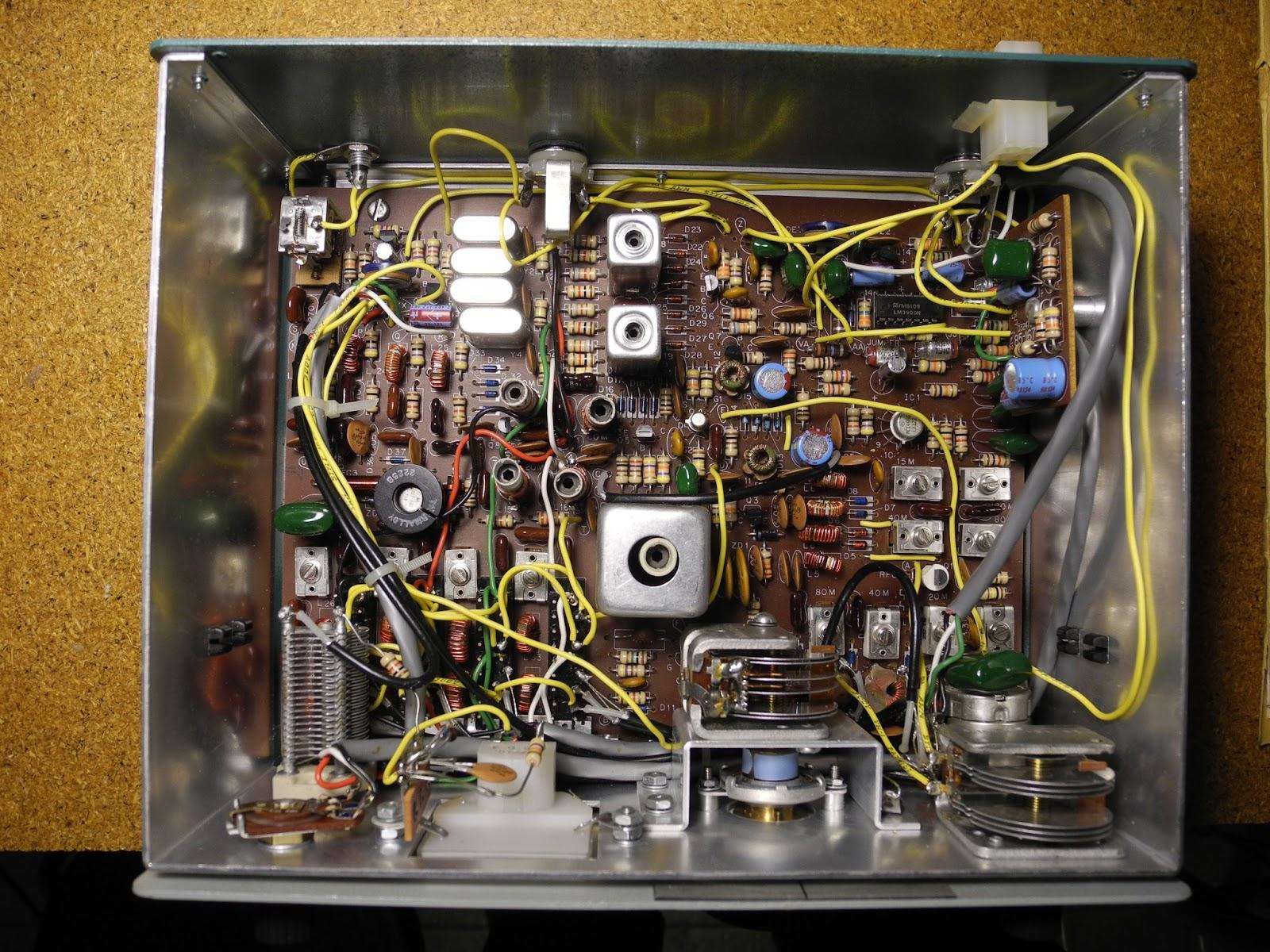 Heathkit power supply hwa-7-1 for heathkit hw-8 cw qrp transceiver.