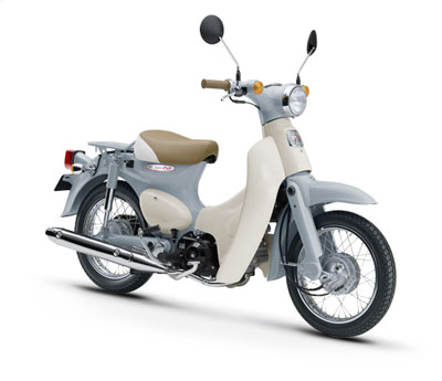 Honda Super Cub modified