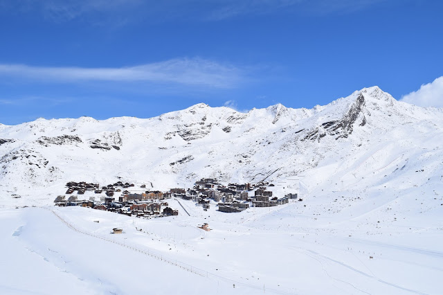 Spring Break Skiing in the French Alps Val Thorens