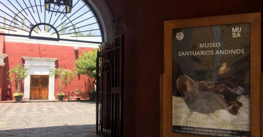 Museo de la momia Juanita está de moda y ya recibió 900 visitantes en menos de un mes