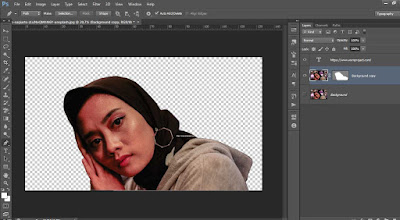 cara hapus background