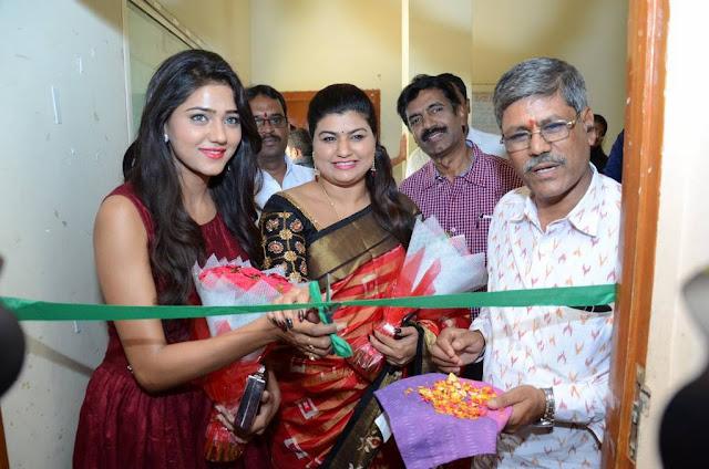 Shaalu Chourasia At Pochampally IKAT art Mela Inauguration