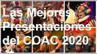 Las Mejores Presentaciones de Comparsas en el COAC 2020