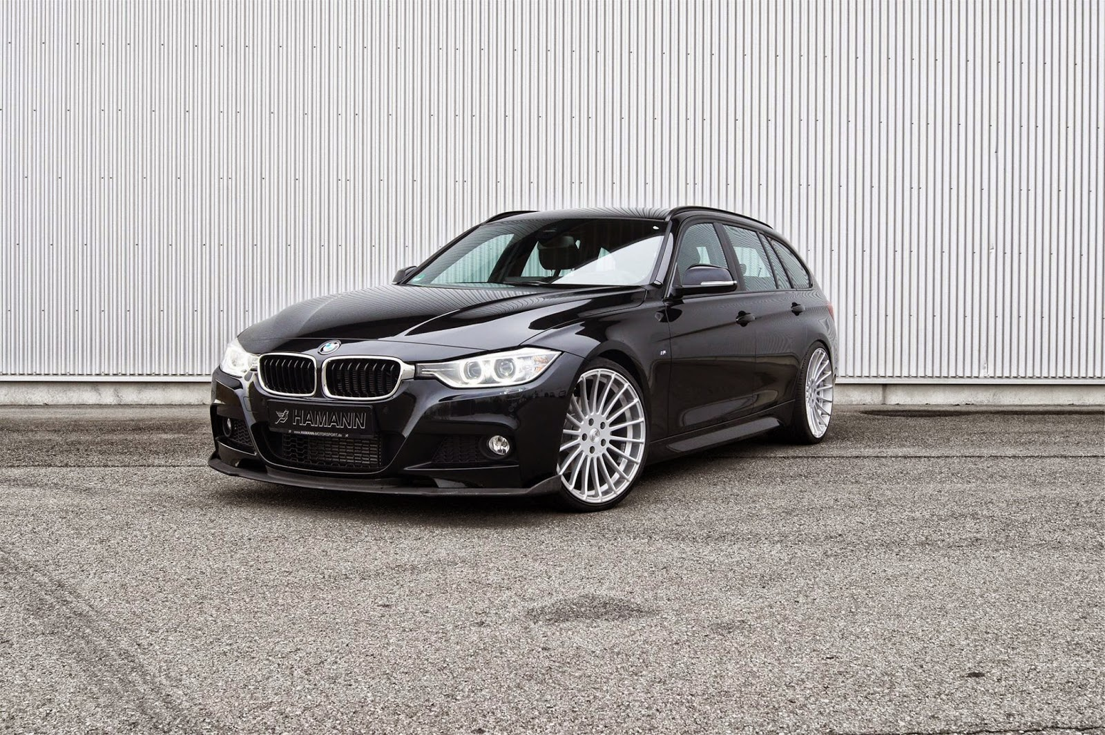 supercars show bmw f31 3 series touring by hamann motorsport. Black Bedroom Furniture Sets. Home Design Ideas