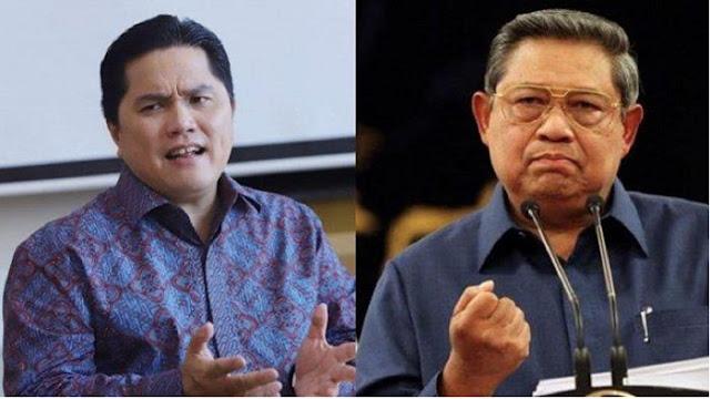 SBY Dituding Terlibat Skandal Jiwasraya, Rachland Nashidik: Erick Thohir Sudah Mahir Politrik