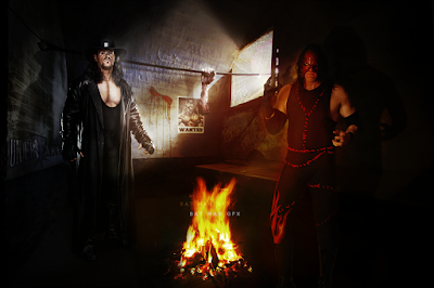 Royal Rumble Latest The Undertaker and The Kane hd wallpapers Images