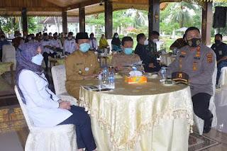 Bupati Batanghari Ir.Syahirsyah Sambut Kedatangan Gubernur Jambi Fachrori Umar Dalam Rangka Kunjungan Kerja