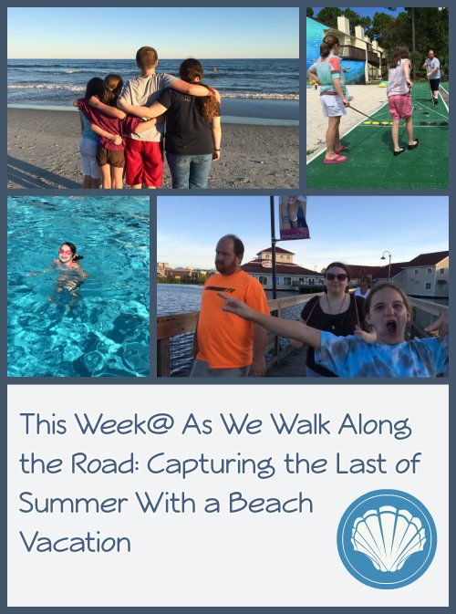 A look at our week with fun at the beach