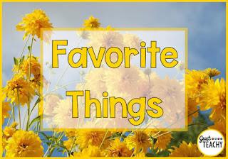 My Favorite Things List, www.justteachy.com