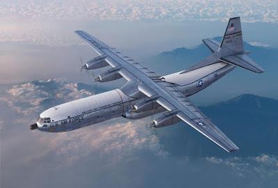 Model No. 335 Douglas C-133B Cargomaster, scale 1:144 picture 1