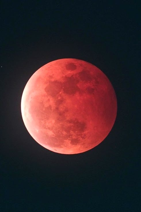 whys the moon red today - photo #15