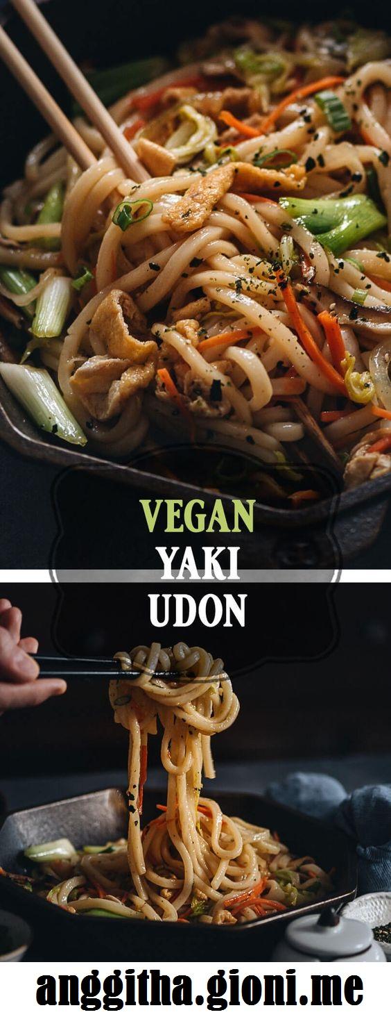 Vegan Yaki Udon