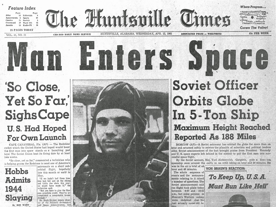 primer humano que viajó al espacio.