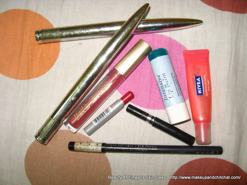 Monthly Makeup Declutter 2015