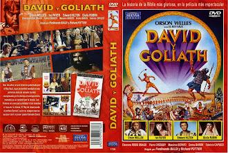 Carátula dvd: David y Goliat