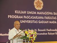 Menteri PUPR,  Ibu Kota Baru Ikon  Kota Cerdas dan Modern