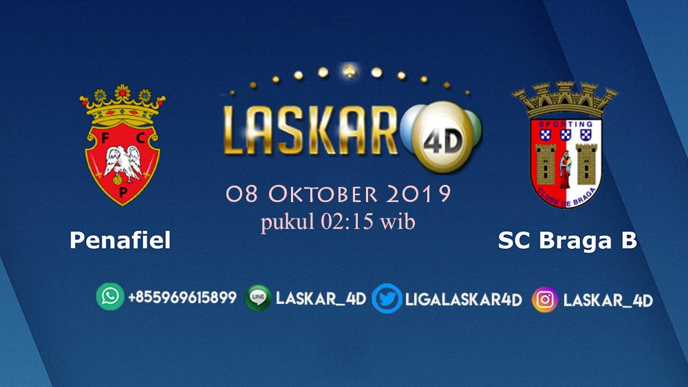 Prediksi Pertandingan Bola Penafiel vs SC Braga 08 Oktober 2019