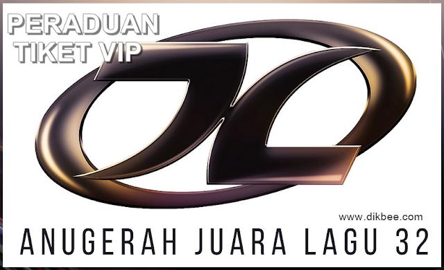 Peraduan Menang Tiket VIP Ke Anugerah Juara Lagu 32