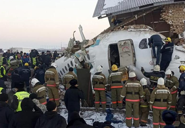 Kazakhstan Plane Crash, Kazakhstan plane, Bek Air plane crash,  asian countries News