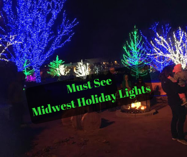 Must See Midwest Holiday Light Displays