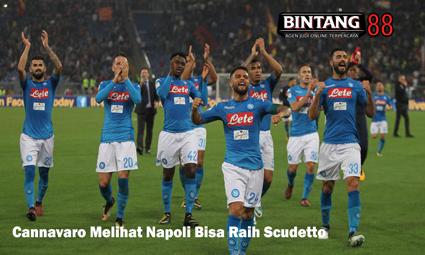 Cannavaro Melihat Napoli Bisa Raih Scudetto